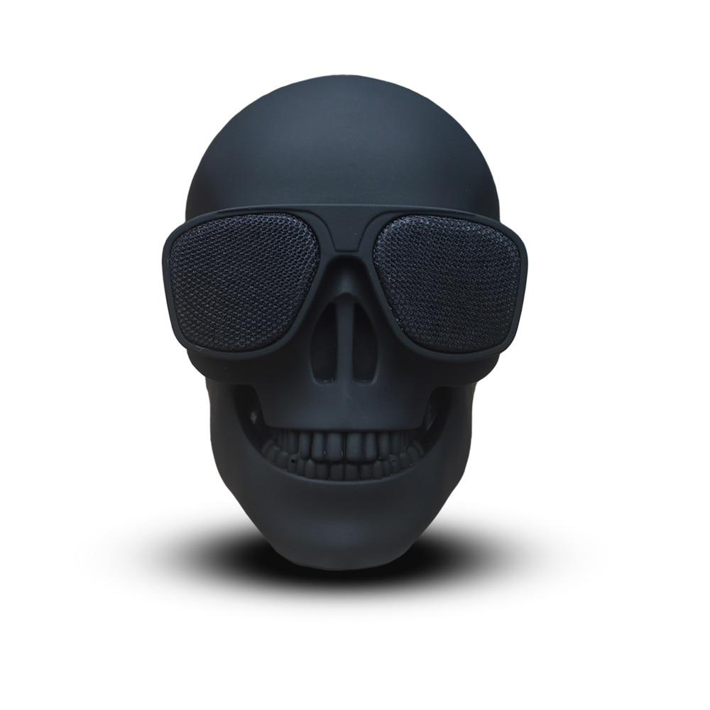 Skull Bluetooth Speaker Subwoofer Mini Unique Portable Wireless Multipurpose Us-Stock