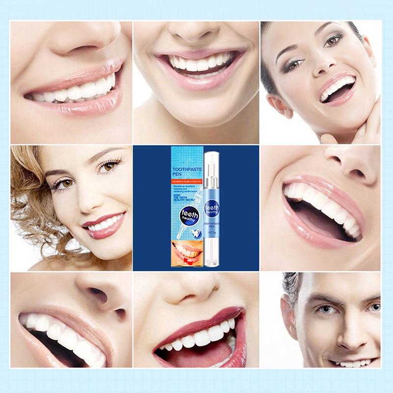 Гель-ручка для отбеливания зубов, глубокое очищение, профессиональные пятна на зубах, удаление желтых зубов, осветление, гигиена полости рта, инструмент для чистки зубов