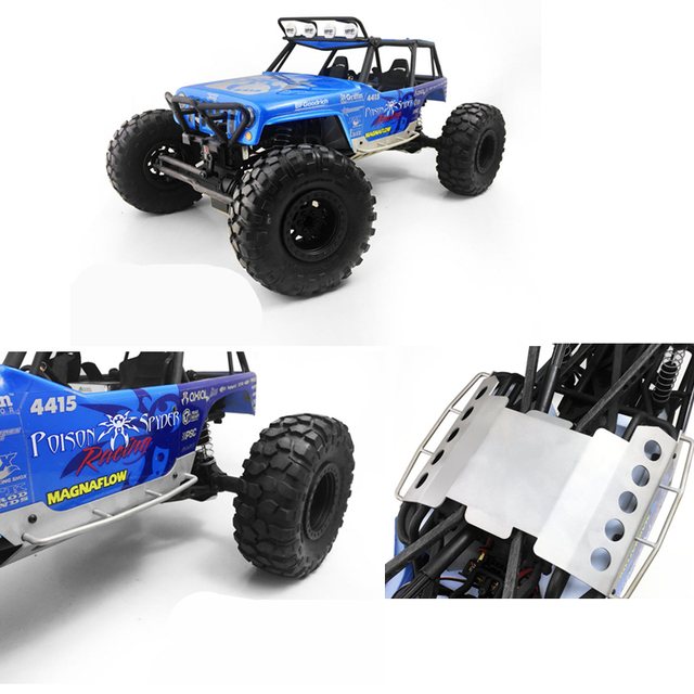 Metal Bottom Chis Guard Board Plate For Axial Wraith Ax90018 Scx10 Crawler Truck Rc Climbing Car