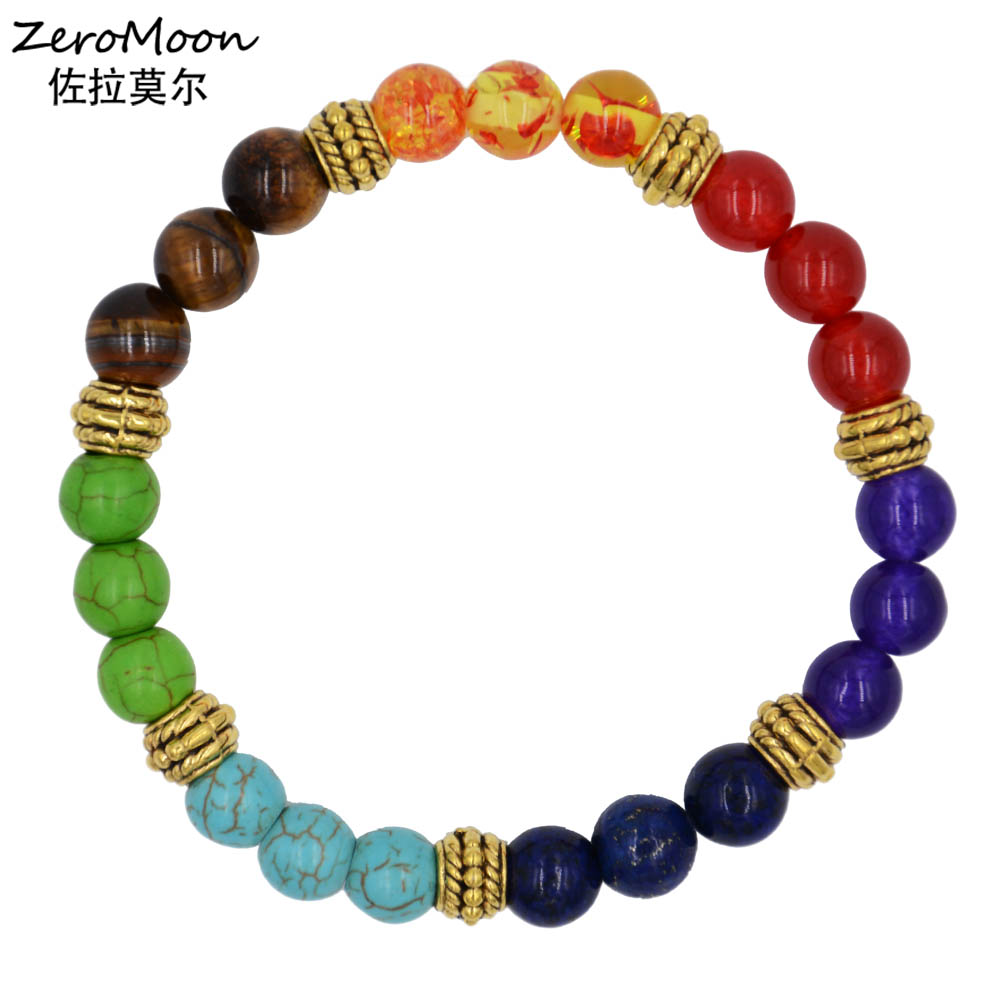 Colorful Beaded Bracelet Women Fashion Jewelry Unisex Friendship Accessory Gift