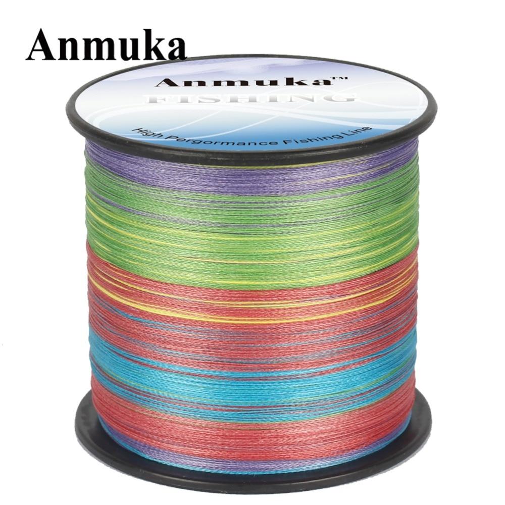 Anmuka 300M 10m 1color Japan Multifilament 100% PE <font><b>8</b></font> <font><b>Strands</b></font> Braided <font><b>Fishing</b></font> <font><b>Line</b></font> Fish Wire 20 to 80LB Sea Saltwater <font><b>Fishing</b></font>
