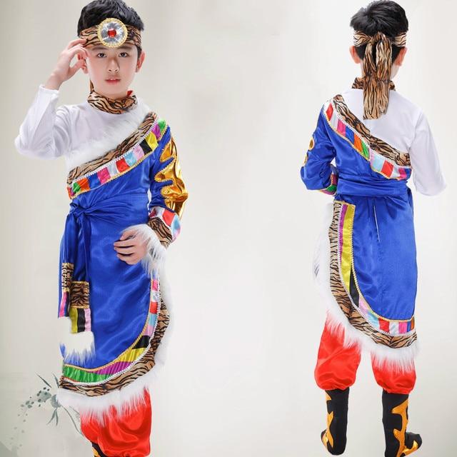 0342d729366b New children Tibetan dance costumes costumes Mongolian minority ...