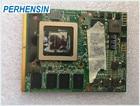 FOR MSI 16F1 16F2 For DELL M15X M17X Clevo M57NL GTX285M GTX 285M N11E-GTX1-B1 Video VGA CARD 100% WORK PERFECTLY