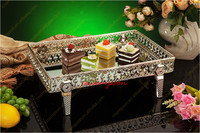 4pcs wedding Hotel Decoration Supplies Comport Snack stand Food dish fruit plate cake stand Wedding decorations