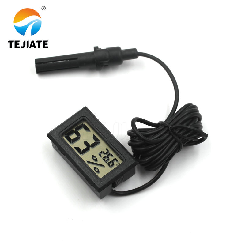 1,5 м Мини цифровой термометр-гигрометр датчик температуры и влажности Измеритель тепловой температуры тестер детектор монитор