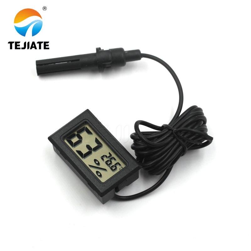 1.5M Mini Digital Thermometer Hygrometer Temperature Humidity Moisture Sensor Meter Thermal Temperature Tester Detector Monitor