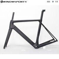 Aero Disc Road Frame Carbon Aero Frameset Ud Matte Glossy BB86 Thru Axle 142mmX12mm 700c Bicicleta