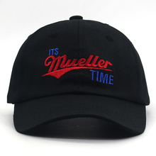 Its Mueller Time Dad Hat letter embroidery baseball cap 100% cotton adjustable caps hip hop sports hats New Panama unisex
