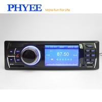 1 Din Car Radio 3 TFT Autoradio MP5 Multimedia Player USB SD Aux Auto Audio Video System Camera Input Head Unit VX2002