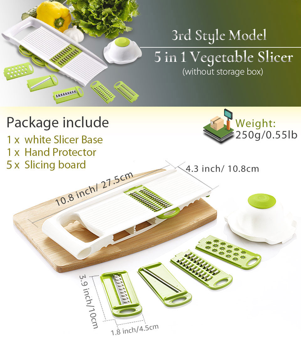 Vegetable Cutter with Steel Blade | Moon Discount