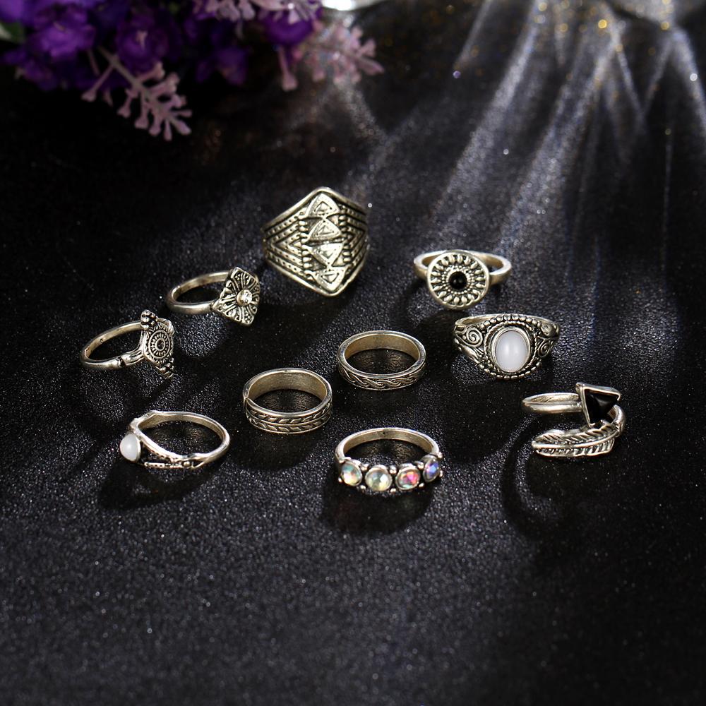 HTB1QyvNRXXXXXcyaXXXq6xXFXXX1 Tribal Fashion 10-Pieces Vintage Midi Ring Set With Opal Stones - 2 Colors