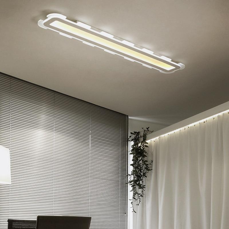 Strip Rectangular Led Ceiling Lamp