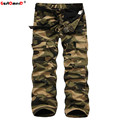 GustOmerD Solid Fleece Thickening Multi-pocket Camouflage High Quality Men Warm Pants Casual Trousers Cotton Cargo Pants