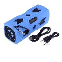 Waterproof Outdoor Bluetooth Speaker Wireless Subwoofer Loudspeaker Dust Proof 3600mA 2X5W NFC DC Out Power Bank