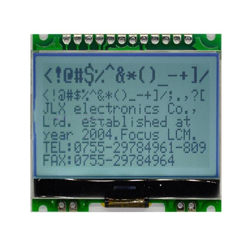 12864 матричный модуль 12864G-086-P ЖК-дисплей экрана модуль с Подсветка cog 5 В
