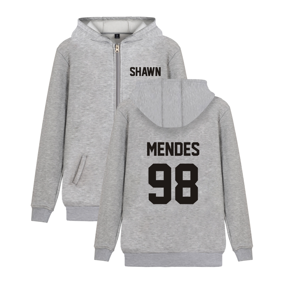 LUCKYFRIDAYF Shawn Mendes Men/Women Autumn Zipper Hoodies Women Coat Casual Print Anime Logo Hoodie Sweatshirt Fans Clothes