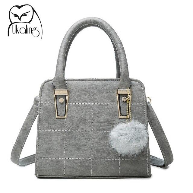 Ukqling Casual Small Tote Handbag For Women Purse Crossbody Bags