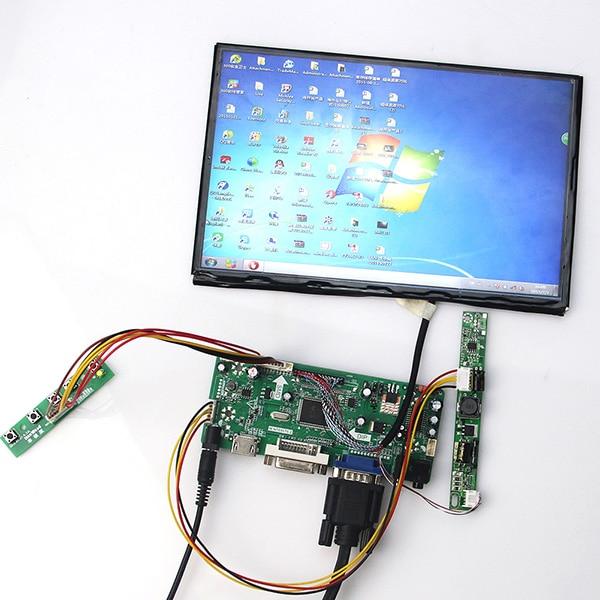 10.1 inch B101UAN01 B101UAN02 1920*1200 LCD Display + LCD Controller Driver Board HDMI VGA 2AV DVI AUDIO vga hdmi lcd controller board for lp156whu tpb1 lp156whu tpa1 lp156whu tpbh lp156whu tpd1 15 6 inch edp 30 pins 1 lane 1366x768