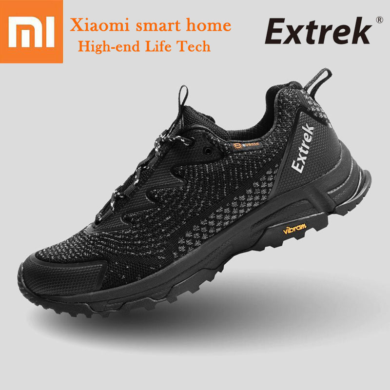 Xiaomi Extrek Waterproof Outdoor Walking shoes Light breathable Non slip 3D Flying weaving Travel Hiking shoes