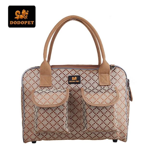 a6615e1e9 DODOPET High Quality Pet Dog Carrier Bag Sturdy Oxford Outdoor Carrier Bag  Handbag Portable Carriers for