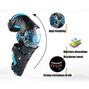 Image 4 - ドゥーハンファッションオートバイ膝パッドモトクロス膝 PC ブレースハイエンド保護具ニーパッドプロテクター