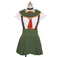 2016 New Anime Gakkou Gurashi! School Live! Kurumi Ebisuzawa School Uniform Set Cosplay Costume