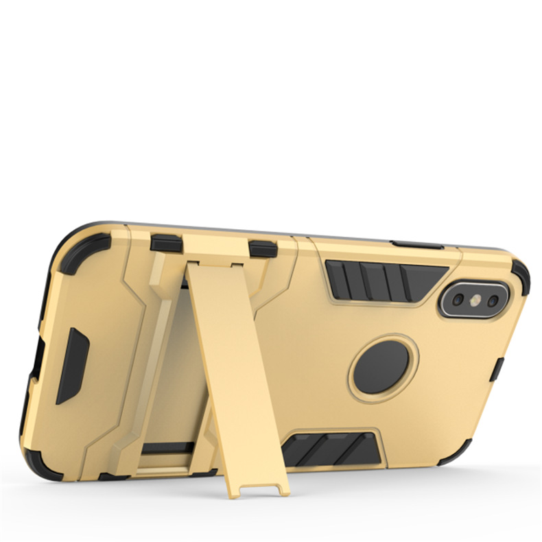 Image 3 - Противоударный защитный чехол для телефона с защитой от царапин, сверхпрочная защита для iphone xsmax xr 6 7 8 plus SE, грязеотталкивающая задняя крышка из ТПУ-in Полуобернутый чехлы from Мобильные телефоны и телекоммуникации