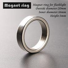 Магнитное кольцо для фонарика, наружный диаметр 20 мм, внутренний диаметр 16 мм, высокий 5 мм