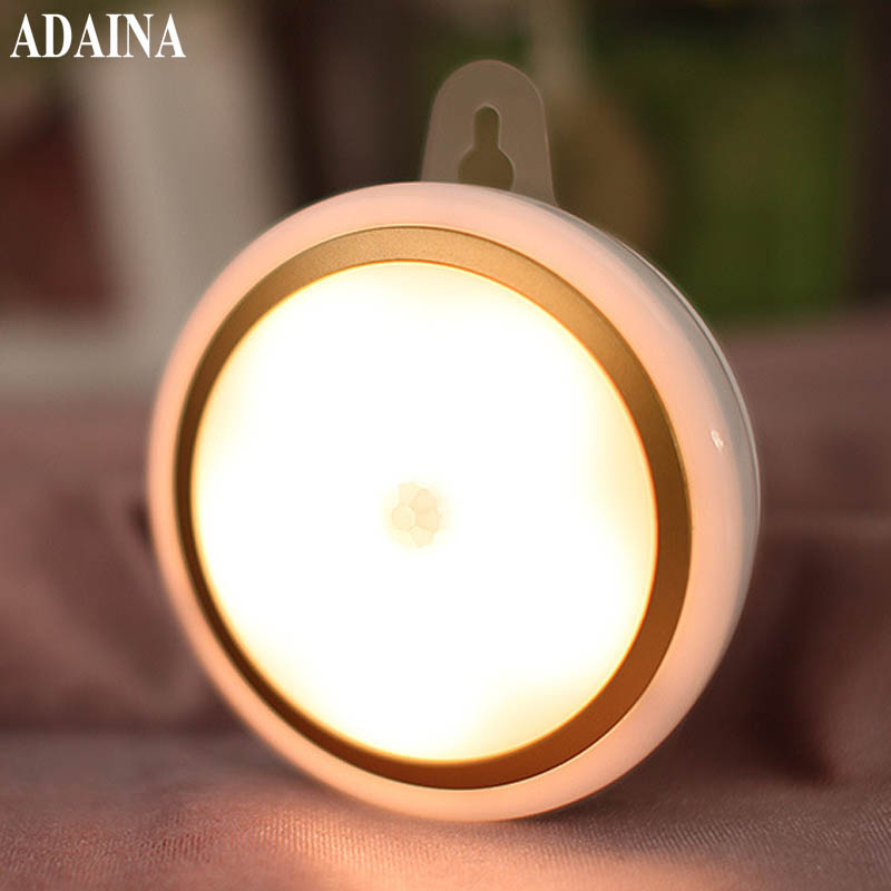 Kids Room Led Sensor Night Light Lamps Motion PIR Intelligent Human Body Induction Sleeping Lamp Yeelight Bedroom Novelty Lamp four leaf clover pir motion sensor led night light smart human body induction novelty battery usb closet cabinet toilet lamps