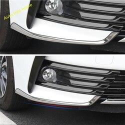 Lapetus przednie światła przeciwmgielne lampy brwi pokrywa zgrabna Fit dla Toyota Corolla 2017 2018 ze stali nierdzewnej ochrona pokrowiec narożny