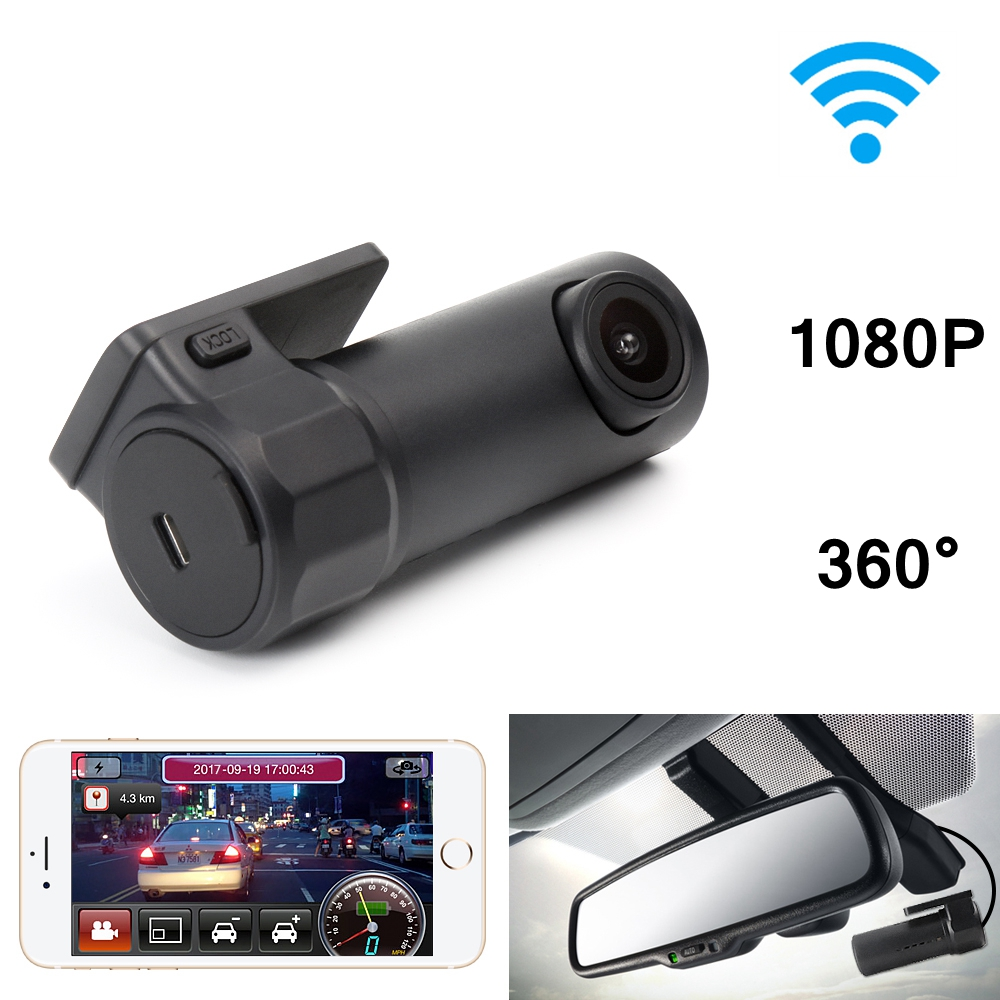 Mini WIFI Car DVR Dash Camera Video Recorder Dashcam Digital Registrar Camcorder APP Manipulation Wireless DVRs