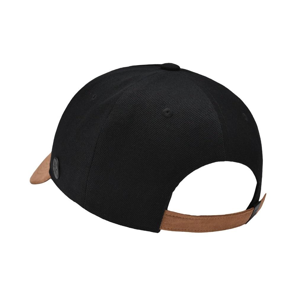 Li-Ning Men Wade Series Sports Cap 100% Polyester 56-60 Cm Sunshade Adjustable LiNing Sport Hats AMYN111 PMQ083