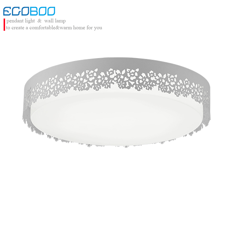 modern LED ceiling lamp ideal modern white indoor round suitable for home light living room bedroom dining room 20w 28w noosion modern led ceiling lamp for bedroom room black and white color with crystal plafon techo iluminacion lustre de plafond