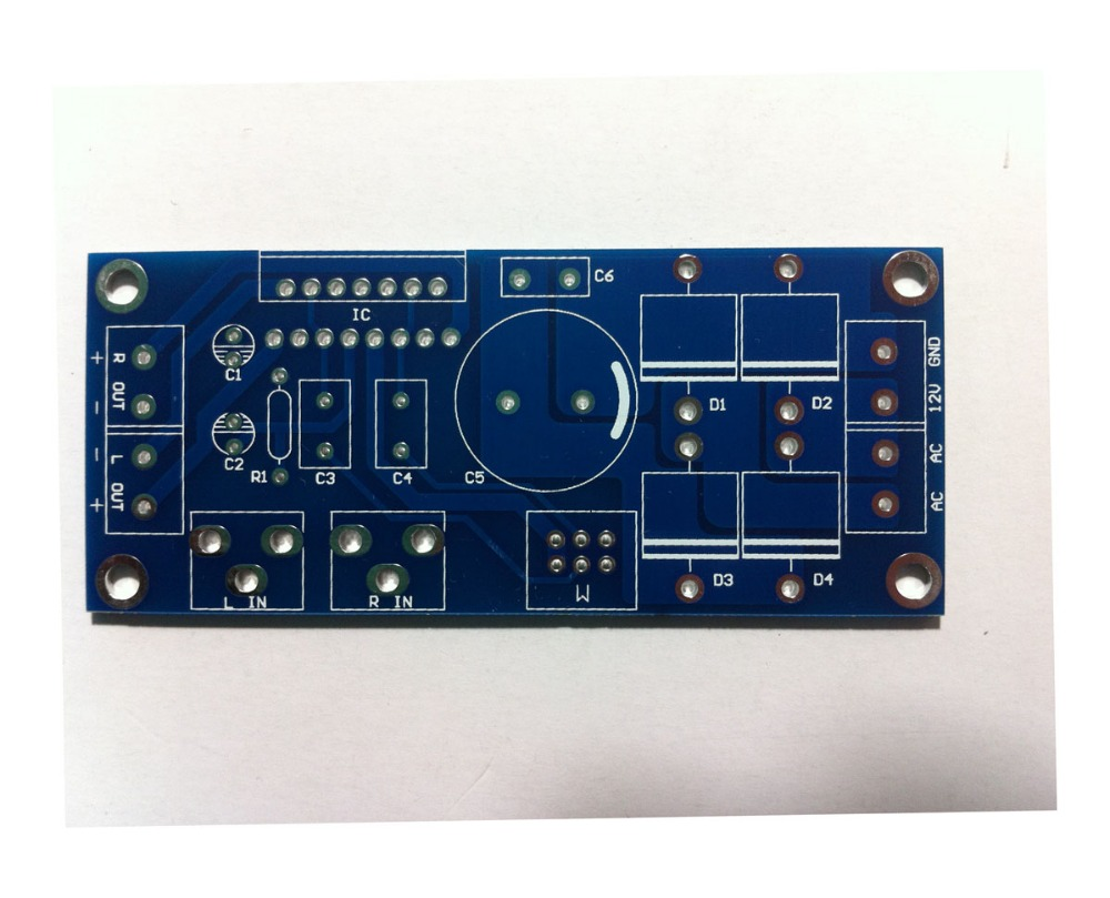 Fannyda New Version Tda7265 Power Amplifiers Board Double Channel Lm675 In Ac Current Source Application General Purpose Amplifier Tda7377 Hifi Pcb Empty Boardac Dc Dual 12v Supply Motor