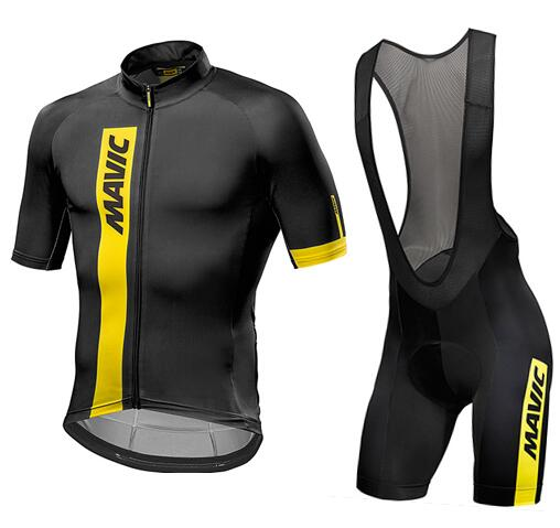 Brand New Quick Dry Short Sleeve Mavic Cycling Jersey Breathable Bike Riding Wear Ropa Ciclismo Bicycle Clothing
