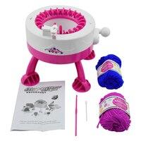 DIY Chapeaux Foulards Main Machine À Tricoter Métier À Tisser Jouer à Faire Semblant Crochet Jouets Pour Filles DIY Tricot Jouet Enfants Cadeaux Smart Weaver