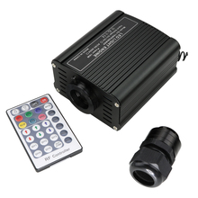 16W RGBW LED Fiber Optic Light Engine Driver+28Key RF Remote Controller for Christmas Decorations for Home
