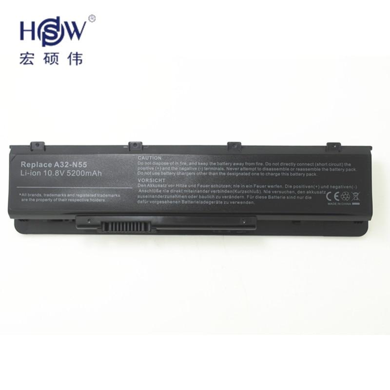 HSW LAPTOP NYHET laptopbatteri A32-N55 07G016 HY1875 för ASUS N45 - Laptop-tillbehör - Foto 2
