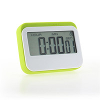 Time Counting Clock Portable Digital Countdown Timer Clock Large LCD Screen Alarm For Kitchen Cook Kitchen