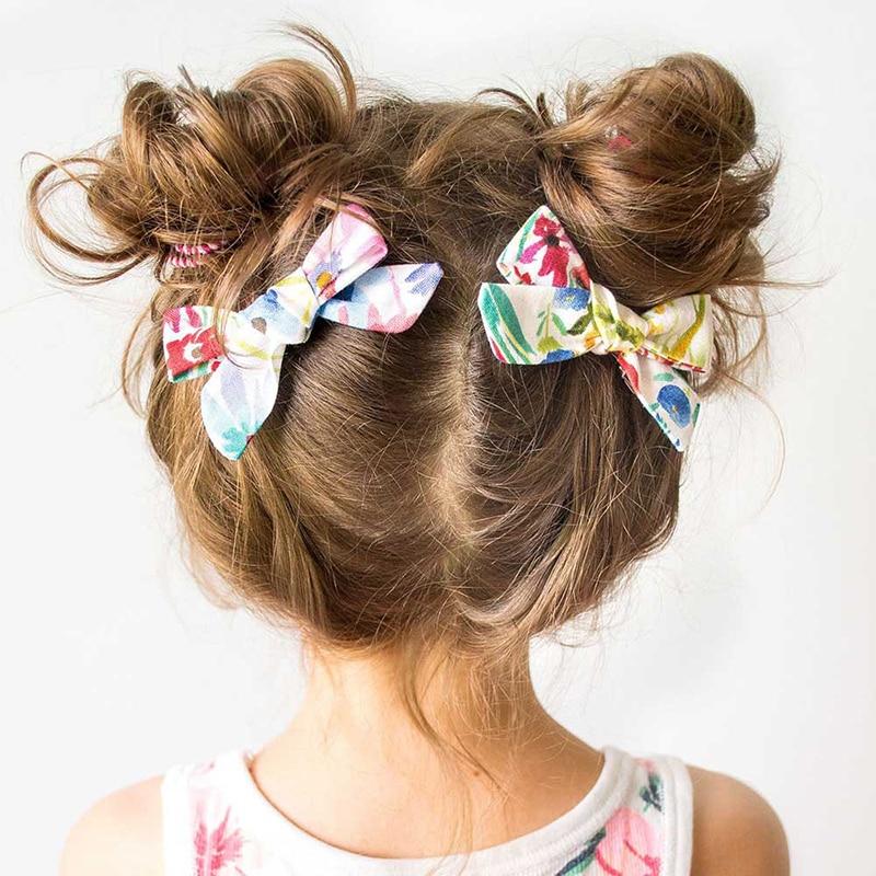 Girls Princess Sequin Bows Hair Clips Handmade Hairpin Cute Kids Princess Headdress Hair Accessories For Girls
