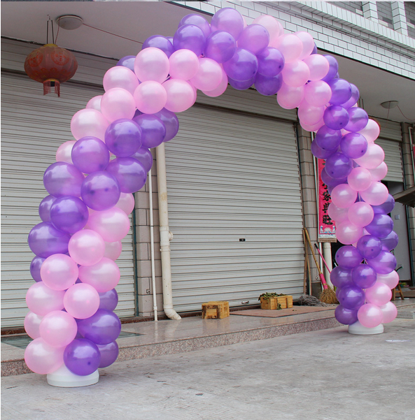 diy base for balloon columns balloon arch formulas