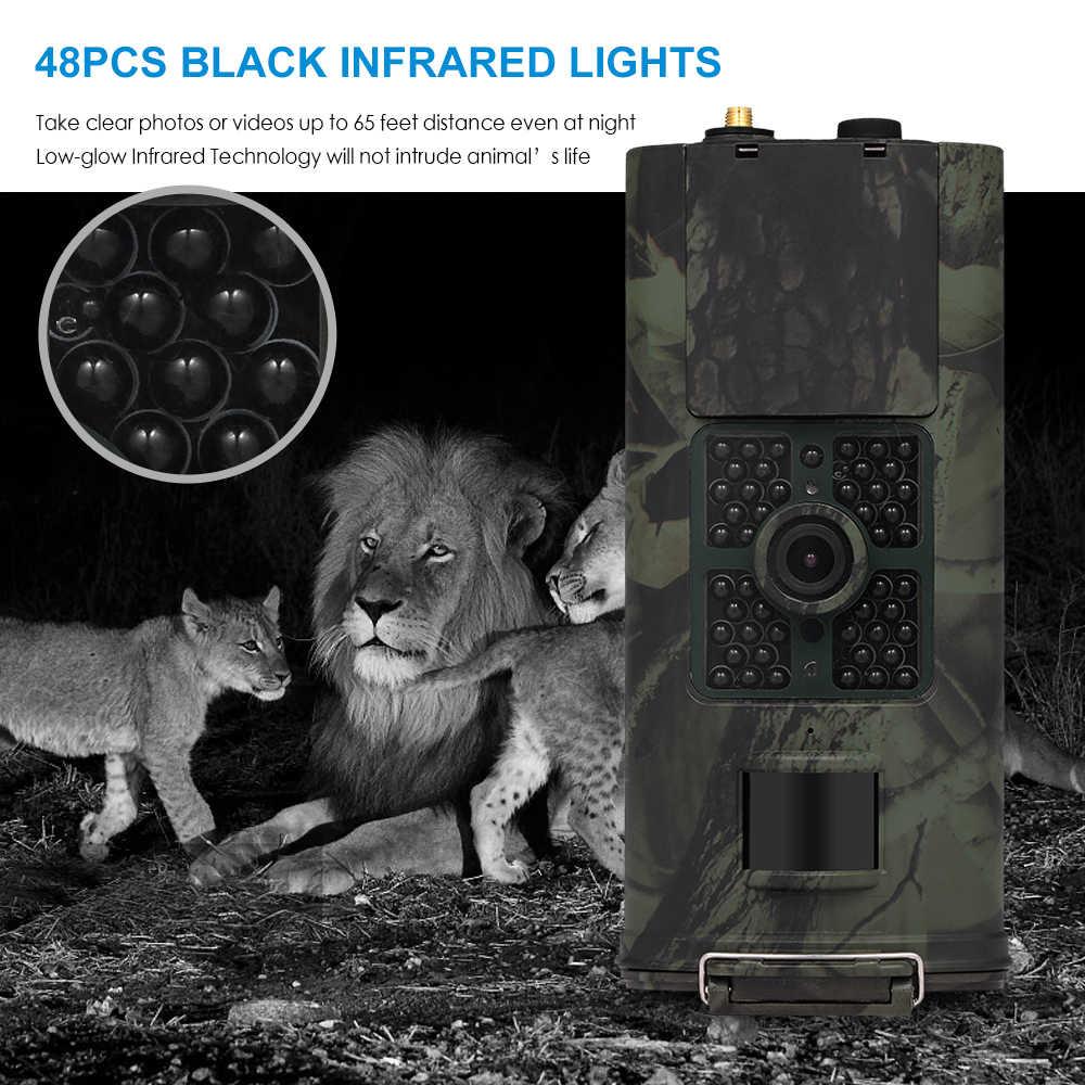 HC-700M 16MP 2/3G SMS Berburu Kamera Outdoor Trail Kamera Satwa Liar Pramuka Foto Perangkap PIR Infrared Malam Visi liar Kamera