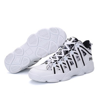 Sneakers men 2018 summer new PU antiskid basketball shoes outdoor fitness training light balance sports shoes for women shoes