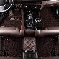 Ohanee custom fit автомобильные коврики чехол для Nissan XTRAIL Livina Murano марта Паладин Tiida Teana Qashqai автомобилей ковры вкладыши