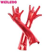 Long gloves 5 finger separation accessories for bdsm bondage adult sex toys bdsm bondage set slave