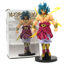 Dragon Ball Z Scultures BIG Modeling Budokai Tenkaichi 7 Broly PVC Action Figure Collectible Model Toy 19cm