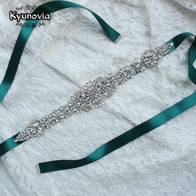 Turquoise Dress Belt Wedding Accessories