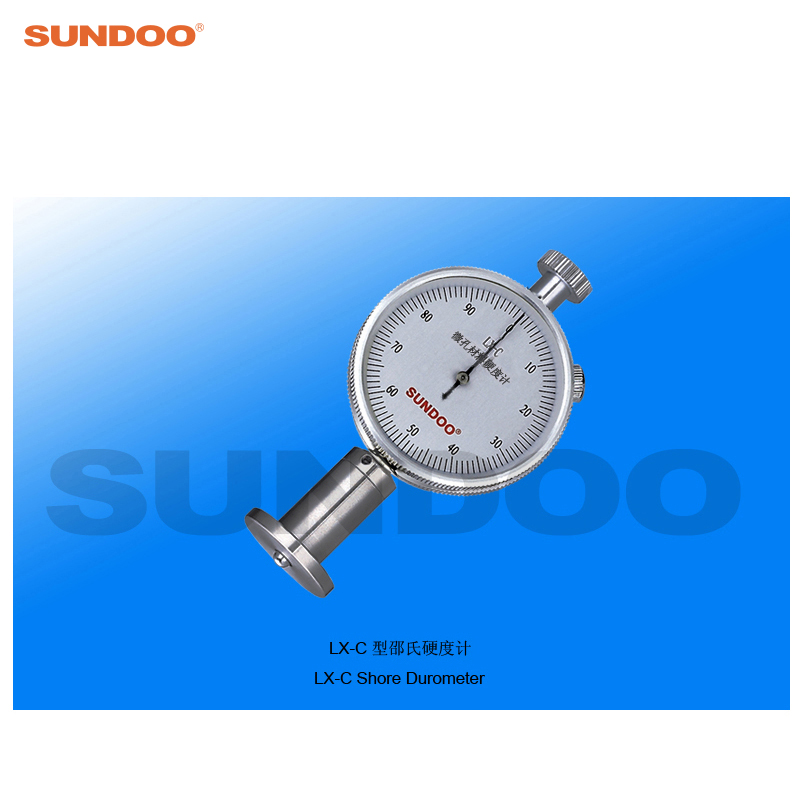 Sundoo LX-C Pointer Foam Sponge Shore Durometer single needle shore c durometer hardness tester lx c 1 sclerometer