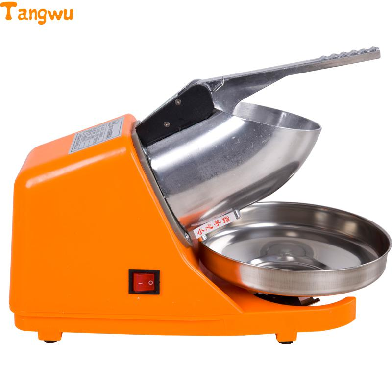Free shipping  snow ice machine high speed commercial high-power Smoothie electric machine sand ice machine Ice Crushers edtid new high quality small commercial ice machine household ice machine tea milk shop