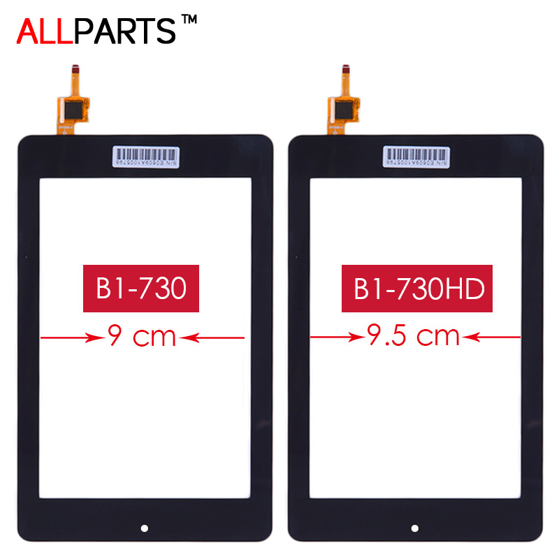 TESTED 7.0 inch Black Touch screen For Acer Iconia One 7 B1-730 B1-730HD Touch Screen Digitizer Replacement Parts Free Adhesive
